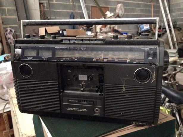 Rádio antigo k7