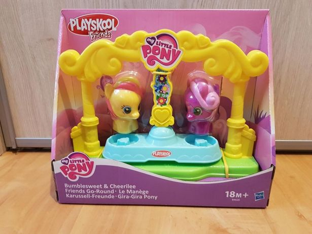 Nowy My Little Pony Plac zabaw Bumblesweet i Cheerilee kucyki