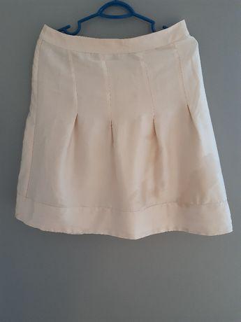 Spódnica atłasowa śliska H&M