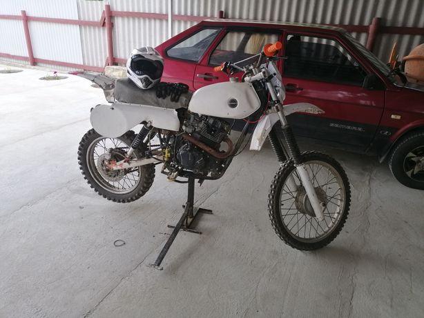 Cz cross 500 с мотором  cg200