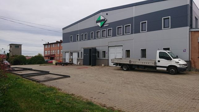 Hala przemysłowa hale magazynowe obiekt produkcyjny nieruchomość