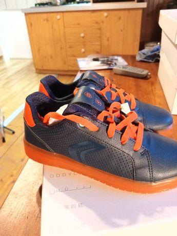Geox respira 36 nowe pudełko paragon świecące sneakersy