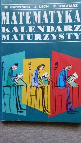 Matematyka kalendarz maturzysty