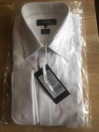 nowa koszula bytom 42~biała bawełna 2skrętna 188/194~ślub~warto!