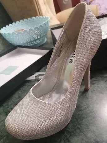 Туфли RIMA размер 37, свадебные