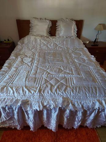 Colcha cama branca