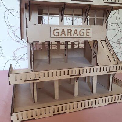Гараж- парковка для машинок