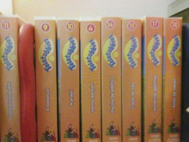 Colecção teletubbies VHS