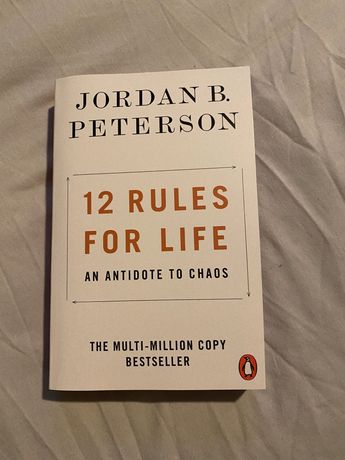 """Livro """"12 Rules for Life"""" by Jordan B. Peterson"""