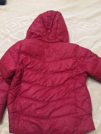 куртка Zara зимняя р. 128