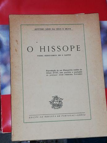 O Hissope Poema Heróico Cómico em 8 cantos Antigo