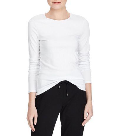 Koszulka damska, długi rękaw - RALPH LAUREN - r. M