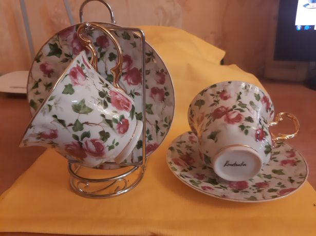 Две чашки блюдце Konstantin подарочный набор