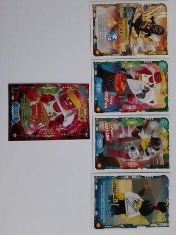Karty ninjago 56, 57, 82, 106, 122 Lego 2020 trading card game