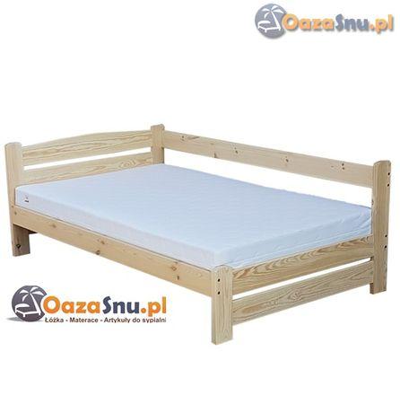 sypialniane łóżko sosnowe VENTE 160x200 mocna konstrukcja na wymiar