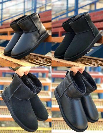 Мужские сапоги UGG Classic Mini II 40-45 Ботинки! Натур Овчина!