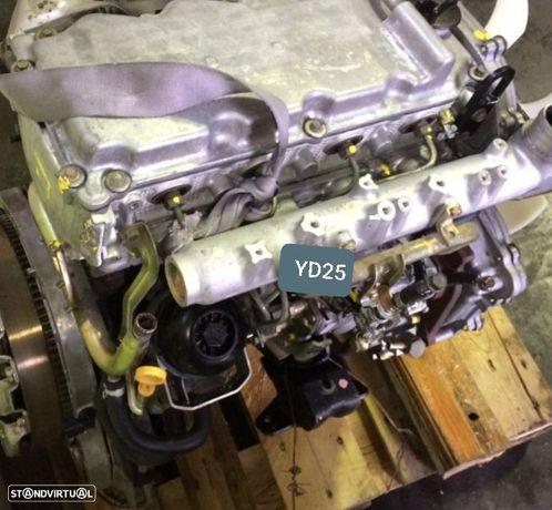 Motor Nissan Navara (D22) 2.5Di 133Cv Ref.YD25