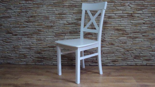 krzesła stoły okragłe bukowe białe dąb sonoma prowansalskie angielskie