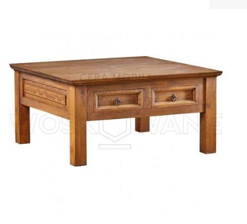 stół drewniany, rustykalny, vintage, stolik kawowy