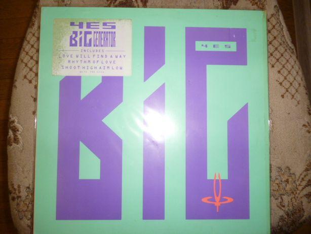 Продам виниловую пластинку YES Big Generator