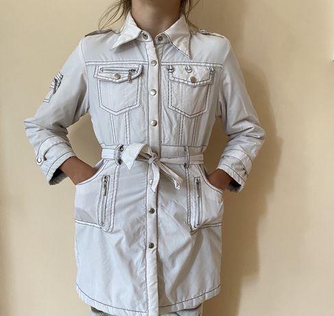 Пальто Traum collection на девочку 7-8 лет