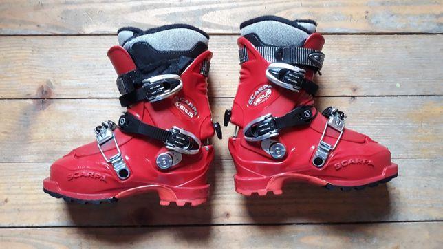 Buty skiturowe Scarpa rozmiar 38 wkł wew 24,2 cm stan dobry