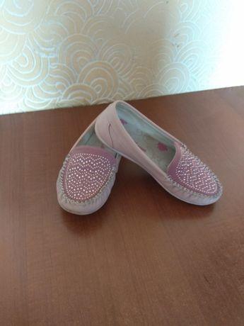 Туфлі макасіни для дівчинки 19 см, 32 р