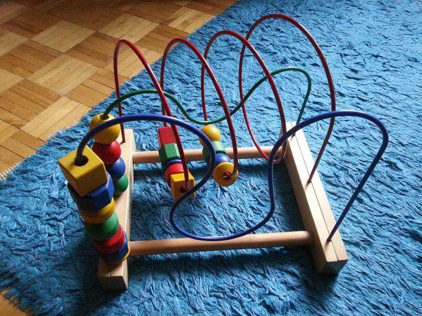Zabawka zręcznościowa, edukacyjna (kolejka MULA) IKEA