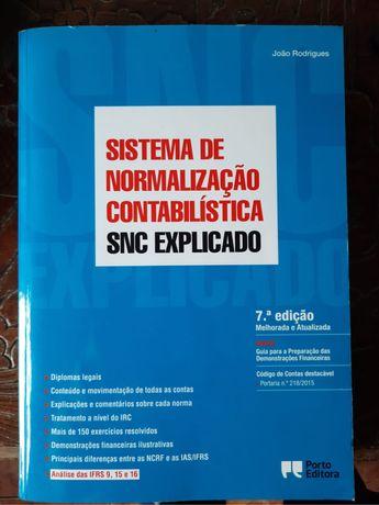Livro de Contabilidade, SNC explicado