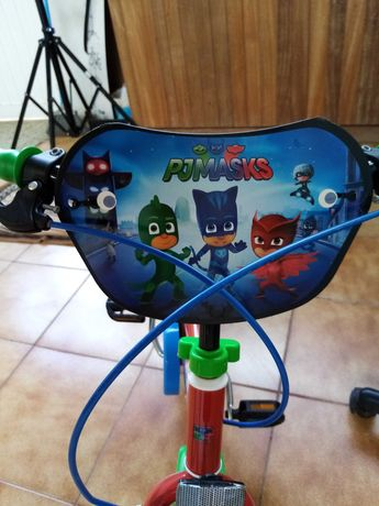 Bicicleta criança PJ mask