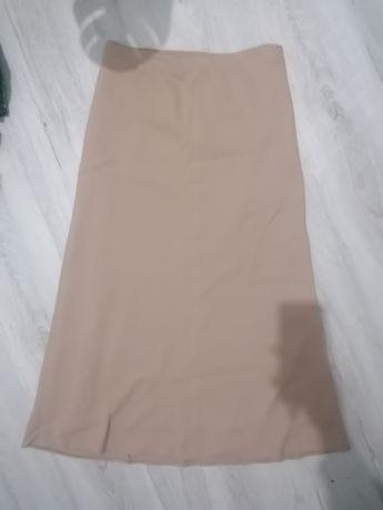 Spódnica cappuccino długa