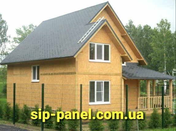 Дом из СИП.Строительство дома.СИП-панели