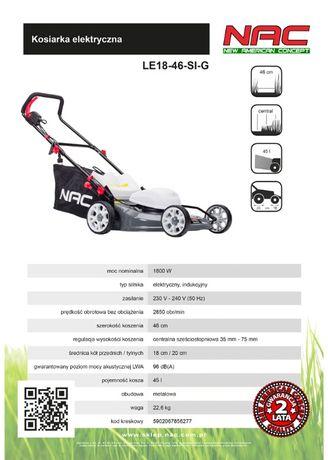 Kosiarka elektryczna NAC LE18-46-SI-G 1800W Indukc