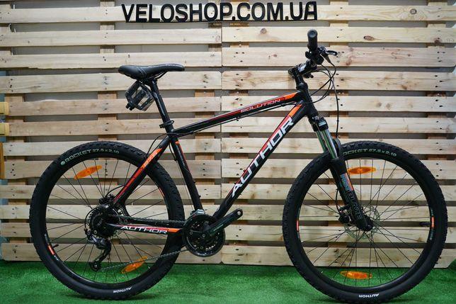 Велосипед горный Solution 27.5 (2020) 19 чорно-помаранчевий