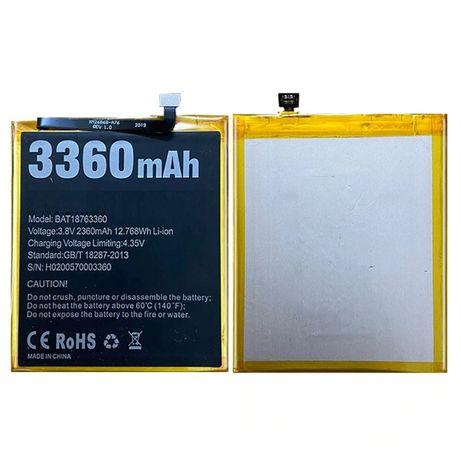 Аккумулятор на Doogee X53 X55 X60 X60L Y7 N10 на Pro батарея