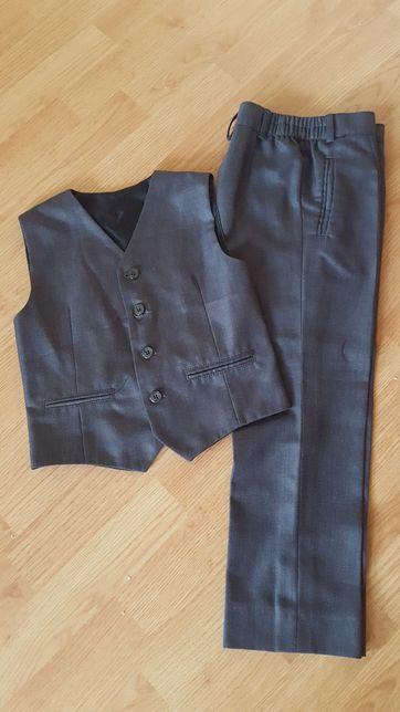 Spodnie garniturowe i kamizelka