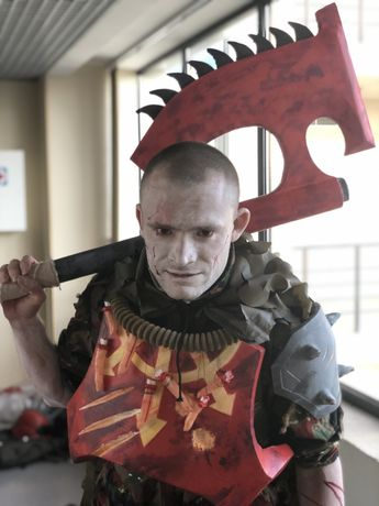 "Косплей ""Кровавый договор"" (Warhammer 40000, хаос). Костюм на хэллоуин"