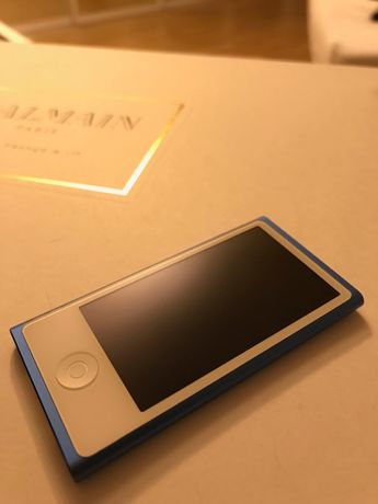 Promocja! -400 zł! iPod Nano 16 gb | niebieski | APPLE | MP3
