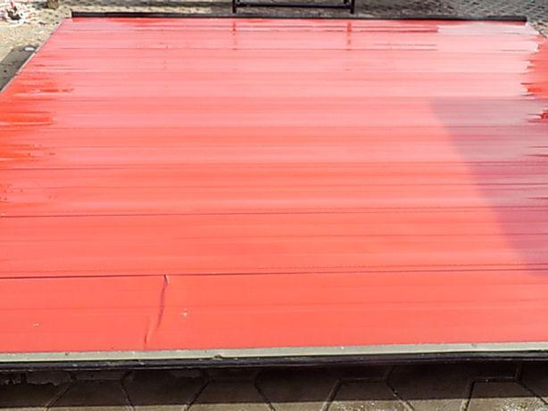 Brama panelowa, segmentowa ,garażowa 495x453cm