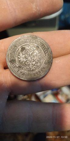 Старая  Русская монета