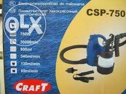 Пневмопистолет лакокрасочный электрический CRAFT CSP-750