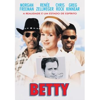 Dvd Betty NOVO Filme Renée Zellweger PLASTIFICADO Rock Morgan Freeman