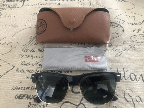 Ray-Ban CLUBMASTER OVERSIZED óculos sol