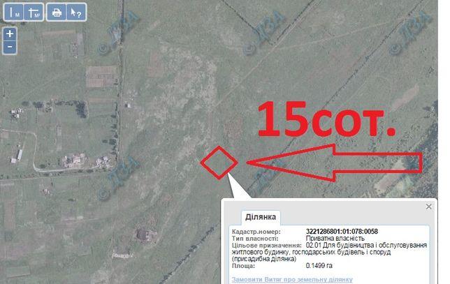 Продажа участка в Пуховке, от собственника, без комиссии!