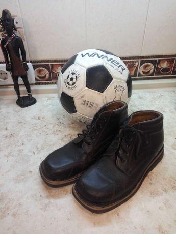 Кожаные дерби фирмы dami 36р. (ботинки/обувь/сапожки) на мальчика.