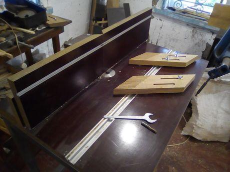 Фрезерный стол (профессиональный из текстолита)