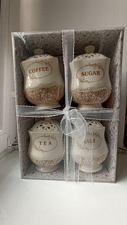 Подарочный набор чай, кофе