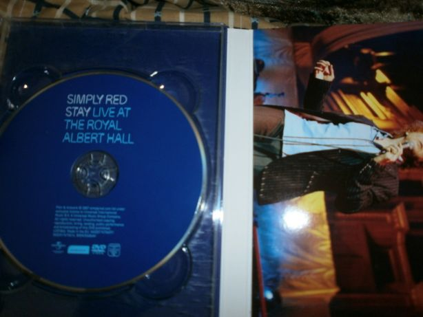 DVD SIMPLY RED live at the royalalbert hall