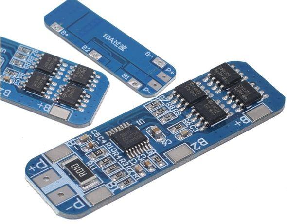 Контроллер заряда 18650 3S, 10A 12,6 V