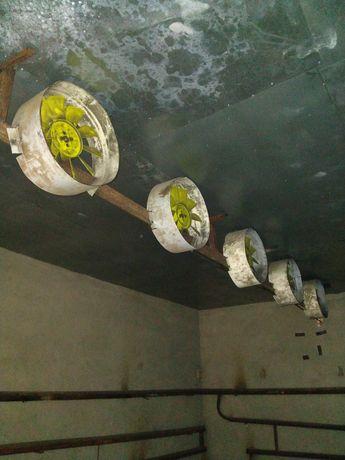 Вентилятори на сушку